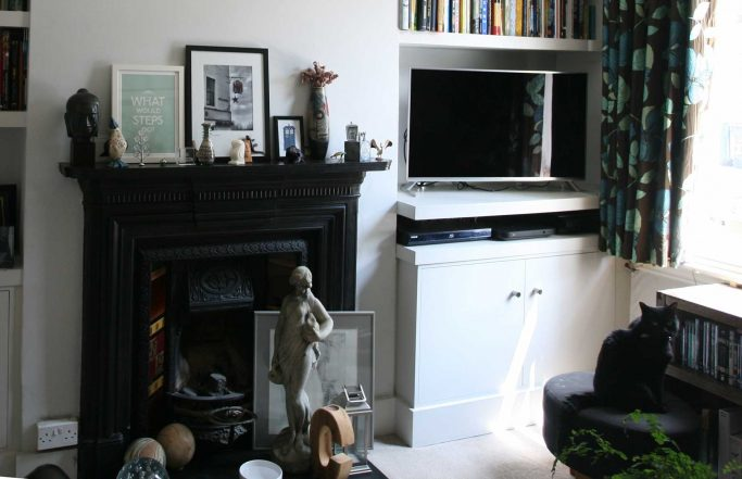 Alcove Cupboards and Shelves – Nine Elms