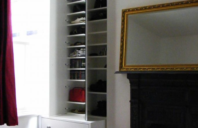 Shoe Storage and Chest of Drawers – Nine Elms