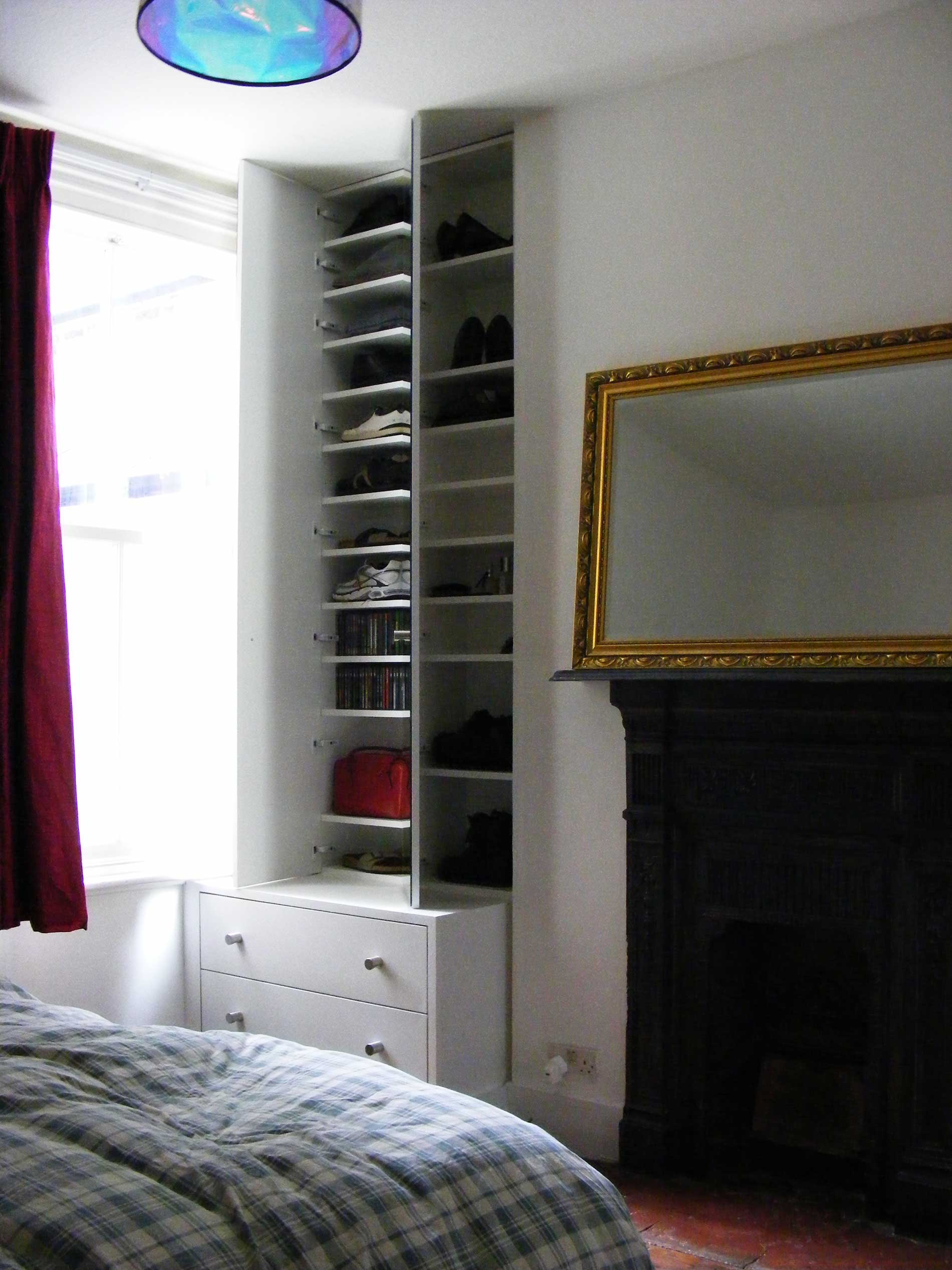 Shoe storage and chest of drawers - Nine Elms