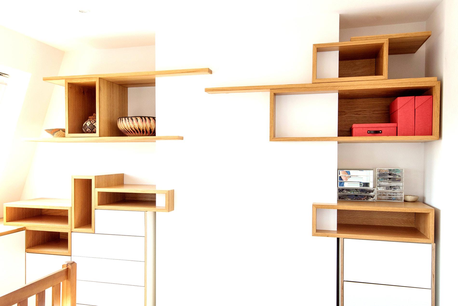 Contemporary Bedroom Storage – Fulham