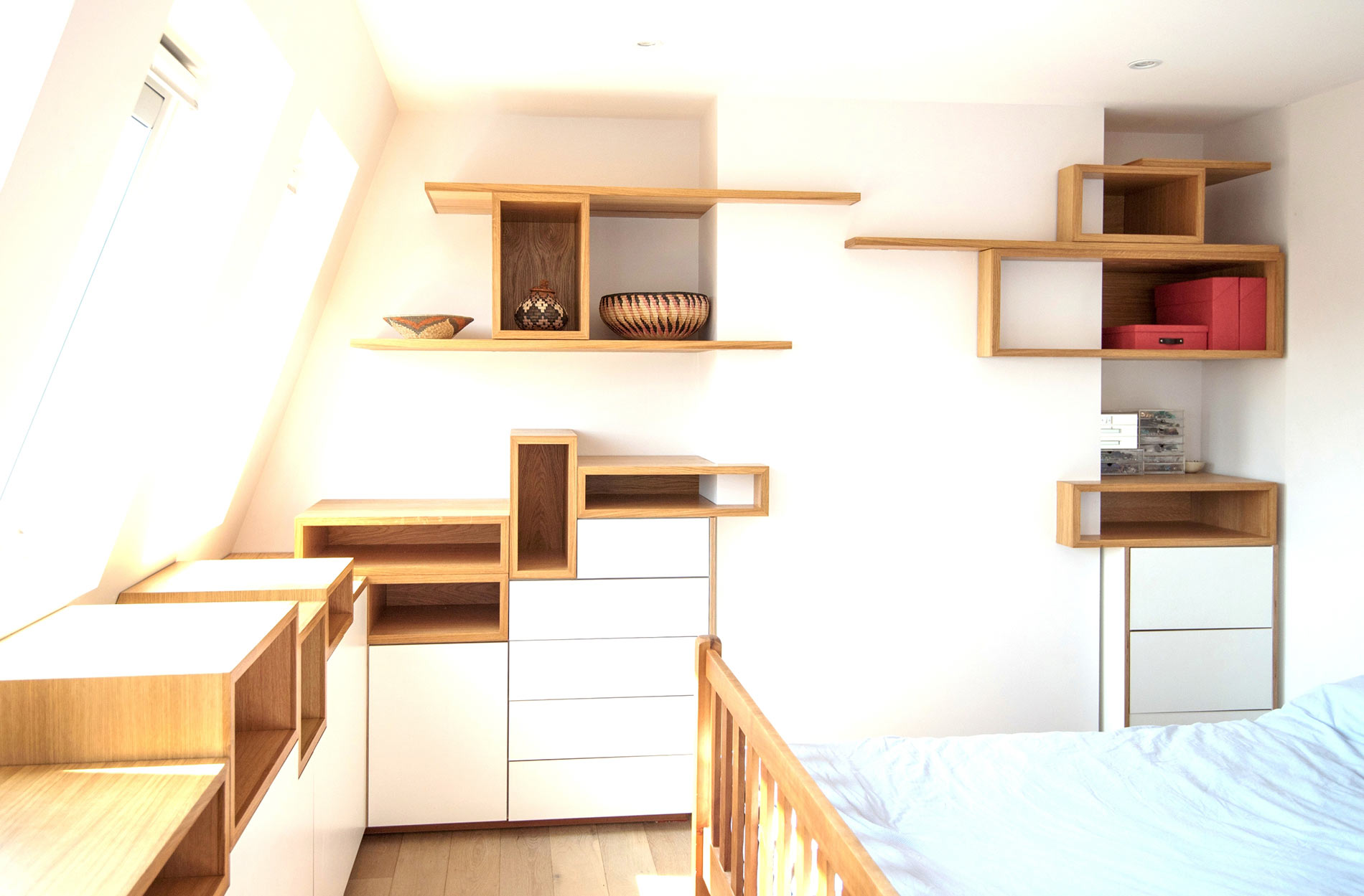 Contemporary Bedroom Storage – Fulham