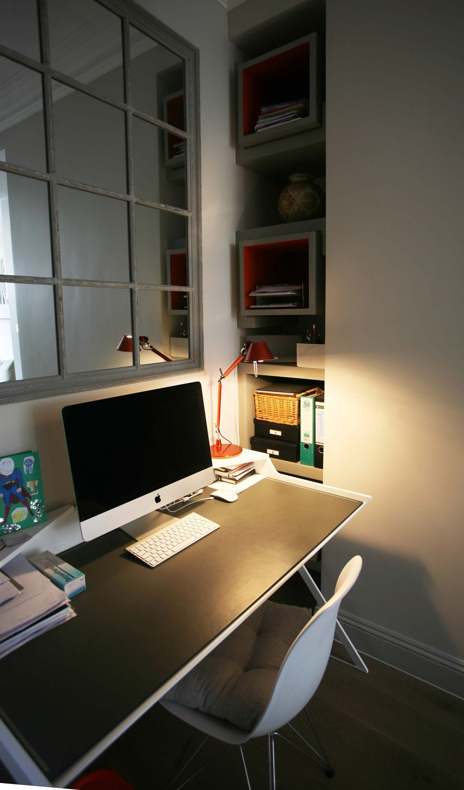 Home Office  Design- Lavender Hill