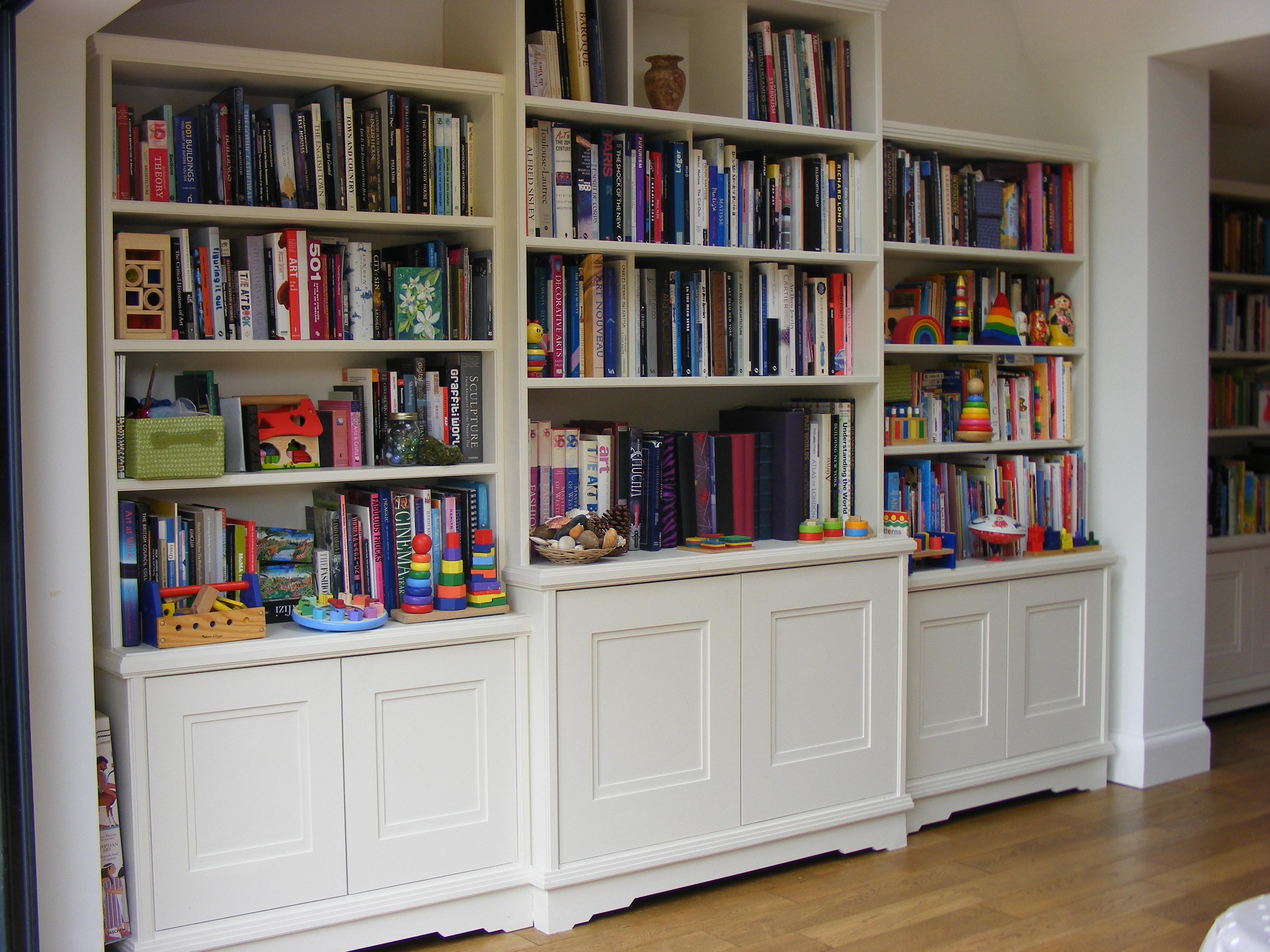 Art Deco bookshelves St Albans (2)