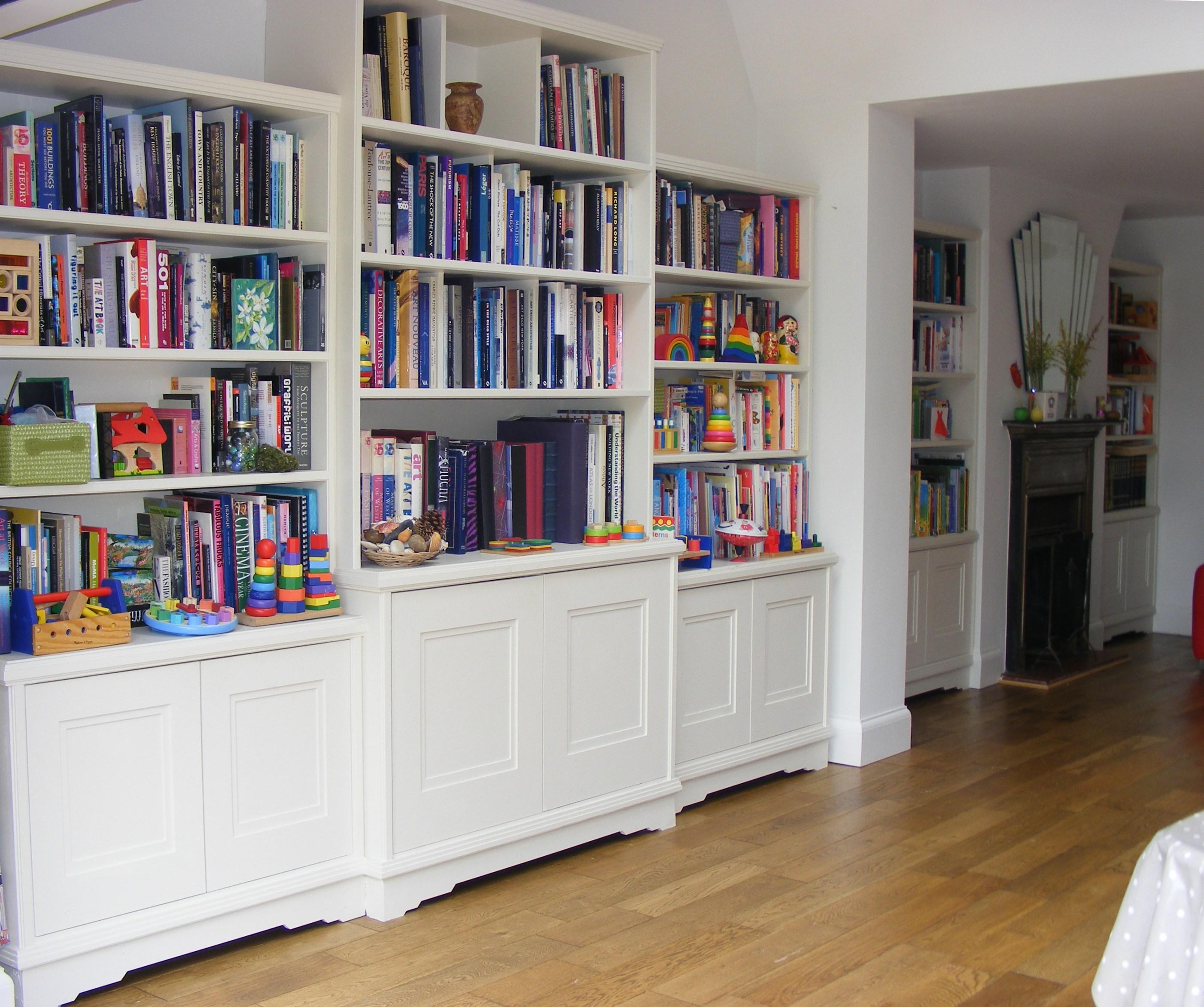 Art Deco bookshelves St Albans (3)