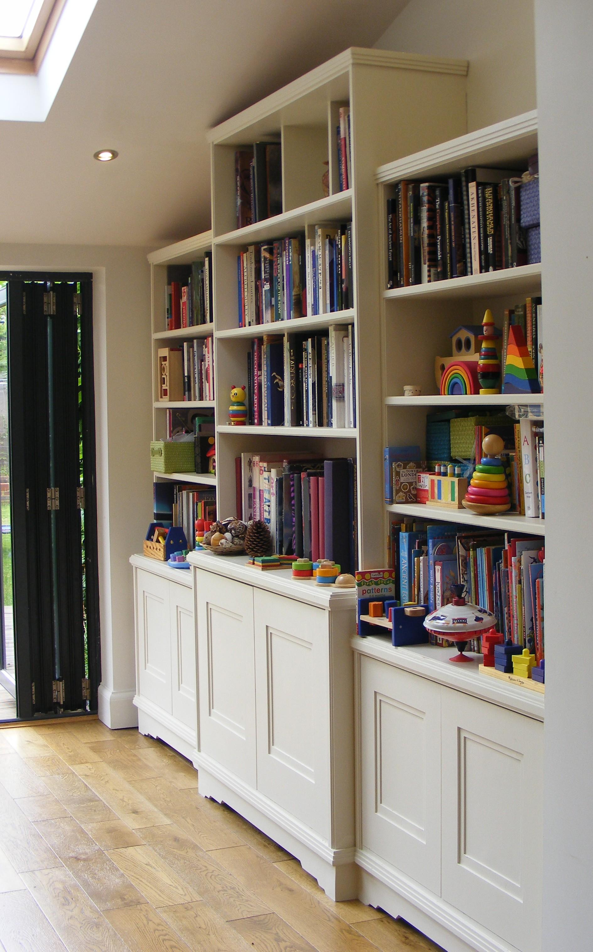 Art Deco bookshelves St Albans (4)