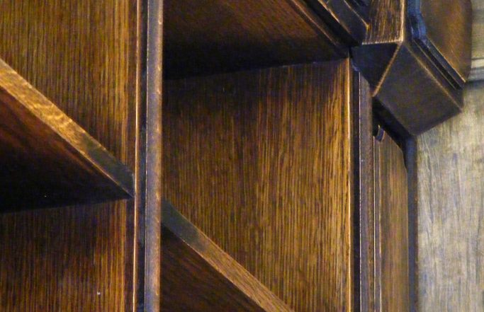 400 year old MDF bookcase :-)